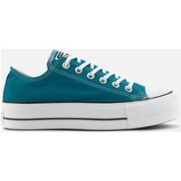 Converse Women's Chuck Taylor All Star Lift Ox Trainers - Bright Spruce - UK 6