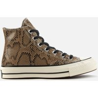 Converse Chuck 70 Archive Reptile Hi-Top Trainers - Brown - UK 9
