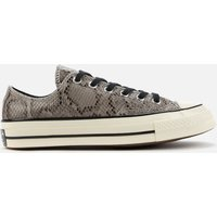 Converse Chuck 70 Archive Reptile Ox Trainers - Grey - UK 5