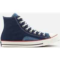 Converse Men's Chuck Taylor All Star Indigo Boro Hi-Top Trainers - Midnight Navy - UK 7