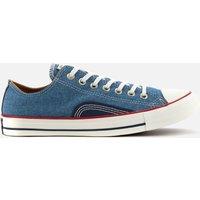 Converse Men's Chuck Taylor All Star Indigo Boro Ox Trainers - Blue/Vintage White - UK 7