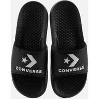Converse All Star Slide Sandals - Black/White - UK 6