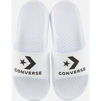 Converse All Star Slide Sandals - White/Black - UK 5