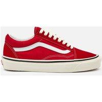 Vans Anaheim Old Skool 36 Dx Trainers - Red/Og White - UK 6