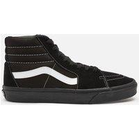 Vans Men's Suede/Canvas Sk8 Hi-Top Trainers - Black/True White - UK 10