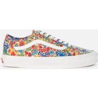 Vans X Liberty London Women's Old Skool Tapered Trainers - Multi/Yellow Floral - UK 3
