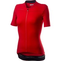 Castelli Anima 3 Jersey - XS - Red/Black