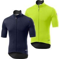 Castelli Perfetto Ros Light Jersey - XL - Savile Blue