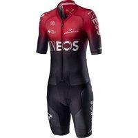 Castelli Sanremo 4.1 Speed Suit - XXL - Black/Red