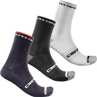 Castelli Rosso Corsa Pro 15 Socks - XXL - Black