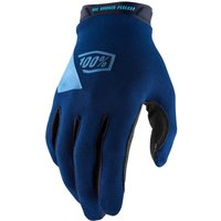 100% Ridecamp MTB Gloves - M - Navy