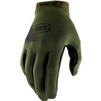 100% Ridecamp MTB Gloves - M - Fatigue