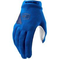 100% Women's Ridecamp MTB Gloves - XL - Blue