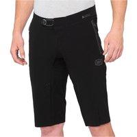 100% Celium MTB Shorts - 30 - Black