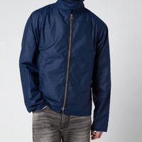 Barbour Beacon Mens Munro Wax Jacket - Regal Blue - L