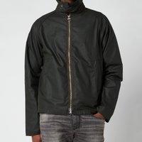 Barbour Beacon Mens Munro Wax Jacket - Sage - L