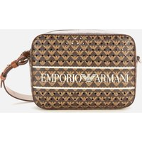 Emporio Armani Women's Frida Printed Camera Bag - Brown
