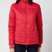 Barbour Womens Southport Quilt Jacket - Ocean Red/Blusher - UK 8