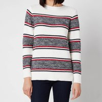 Barbour Women's Merseyside Knitted Top - Off White - UK 12