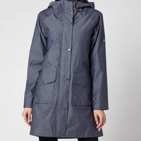 Barbour Womens Padstow Jacket - Chambray Marl/Navy - UK 8