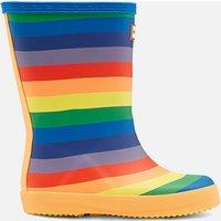 Hunter Kids' First Classic Rainbow Wellington Boots - Multi - UK 8 Toddler