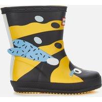 Hunter Kids' First Classic Wasp Wellington Boots - Sunflower - UK 6 Toddler