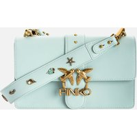 Pinko Womens Love Classic Icon Simply Shoulder Bag - Sage Grey