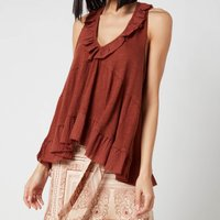 Free People Women's Out And About Tank Top - Petrichor - XS