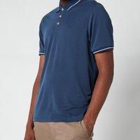 Ted Baker Men's Gelpen Polo Shirt - Mid Blue - 2/S