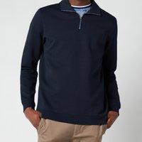 Ted Baker Men's Ayfive Half Zip Funnel Neck Polo Shirt - Navy - 6/XXL