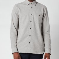 Ted Baker Men's Morty Textured Shirt - Grey Marl - 6/XXL