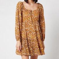 Faithful The Brand Women's Indira Mini Dress - La Medina Paisley Print - XS