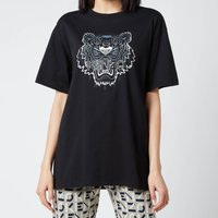 KENZO Women's Gradient Tiger Oversize T-Shirt - Black - M
