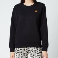 KENZO Women's Tiger Crest Classic Sweatshirt - Black - L