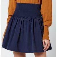 KENZO Women's Ks Short Flared Skirt - Midnight - EU 38/UK 8