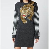 KENZO Women's Embroidered Dress - Black - S