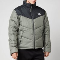 The North Face Men's Saikuru Jacket - Agave Green/Asphalt Grey - XXL