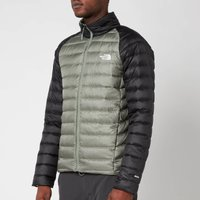 The North Face Men's Trevail Jacket - Agave Green/TNF Black - XL