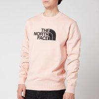 The North Face Mens Drew Peak Sweatshirt - Evening Sand Pink - XL