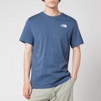 The North Face Men's Redbox Short Sleeve T-Shirt - Vintage Indigo - S