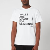 The North Face Men's  Walls Are Meant For Climbing  Short Sleeve T-Shirt - TNF White - XXL