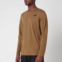 The North Face Mens Easy Long Sleeve T-Shirt - Military Olive - L