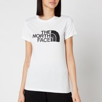 The North Face Women's Easy Short Sleeve T-Shirt - TNF White - L