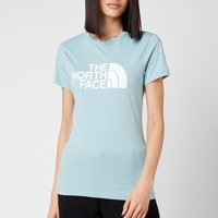 The North Face Women's Easy Short Sleeve T-Shirt - Tourmaline Blue - L