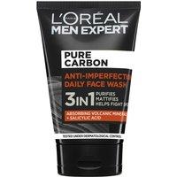 L'Oréal Paris Men Expert Carbono Puro 3 en 1 Lavado Facial Diario 100ml