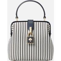 Kate Spade New York Womens Remedy Stripe Small Top Handle Bag - Blazer Blue Multi
