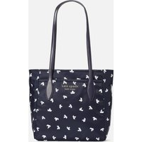 Kate Spade New York Women's Daily Paper Boats Medium Tote Bag - Squid Ink Multi