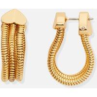 Kate Spade New York Women's Small Snake Chain Hoop - Gold