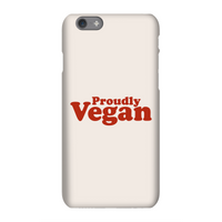 Proudly Vegan Phone Case for iPhone and Android - Samsung S6 Edge Plus - Snap Case - Matte