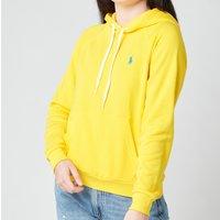 Polo Ralph Lauren Women's Logo Hoodie - University Yellow - S